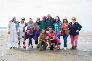 Mosaic beach group (Small)