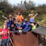 Pembrokeshire Coast National Park join Point Youth Club for project