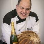 Llangollen Food Fetsival Hamper Llangollen welcomes Robert Didier's gold loaf creation
