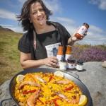 Llangollen Food Festival Hamper Llangollen showcases Beatriz Albo's award-winning family dishes