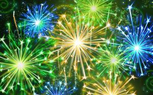 Royal Welsh Winter Fair firewworks