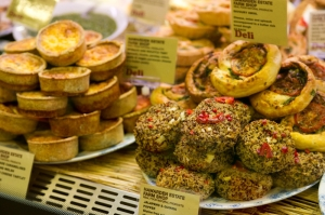 a small selection of party food from Hawarden Farm Shop
