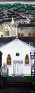 King Street Gallery exhibtion example 'Capel y Felfed' Sarah Maria Rhys