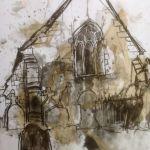 Plas Glyn-y-Weddw  supports local young artist, Cian Owen with a Christmas Exhibition