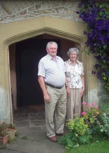 The new president and wife of the Royal Welsh Agricultural Society
