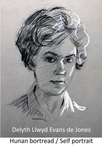 Plas Glyn-y-Weddw Delyth Llwyd Evans de Jones self portrait