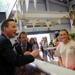 David Cameron visits the Royal Welsh Show for second year running