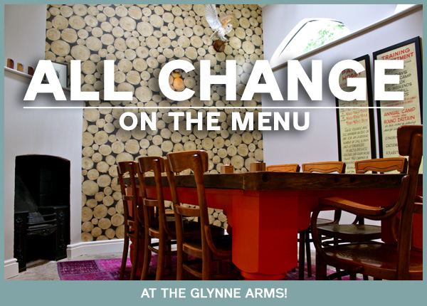 Glynne Arms dining