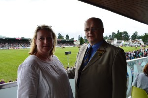 representatioves from Royal Welsh and nominet