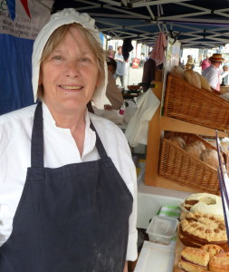 Janet Williams from Cakes and Bakes at brecon farmers market