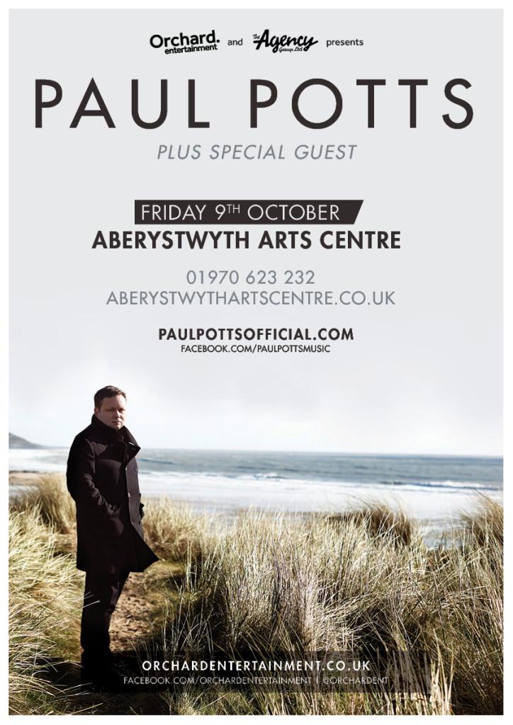 paul potts aberystwyth arts centre