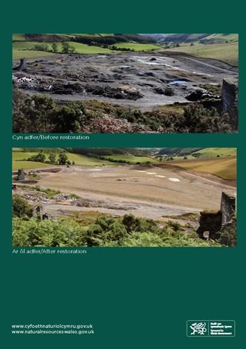 natural resources ceredigion metal mine