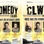 Comedy Club is back at Aberystwyth Arts Centre