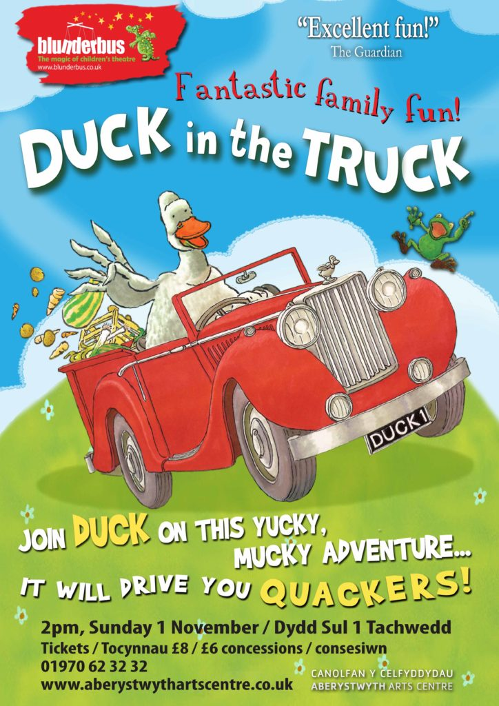 duck in the truck aberystwyth arts centre