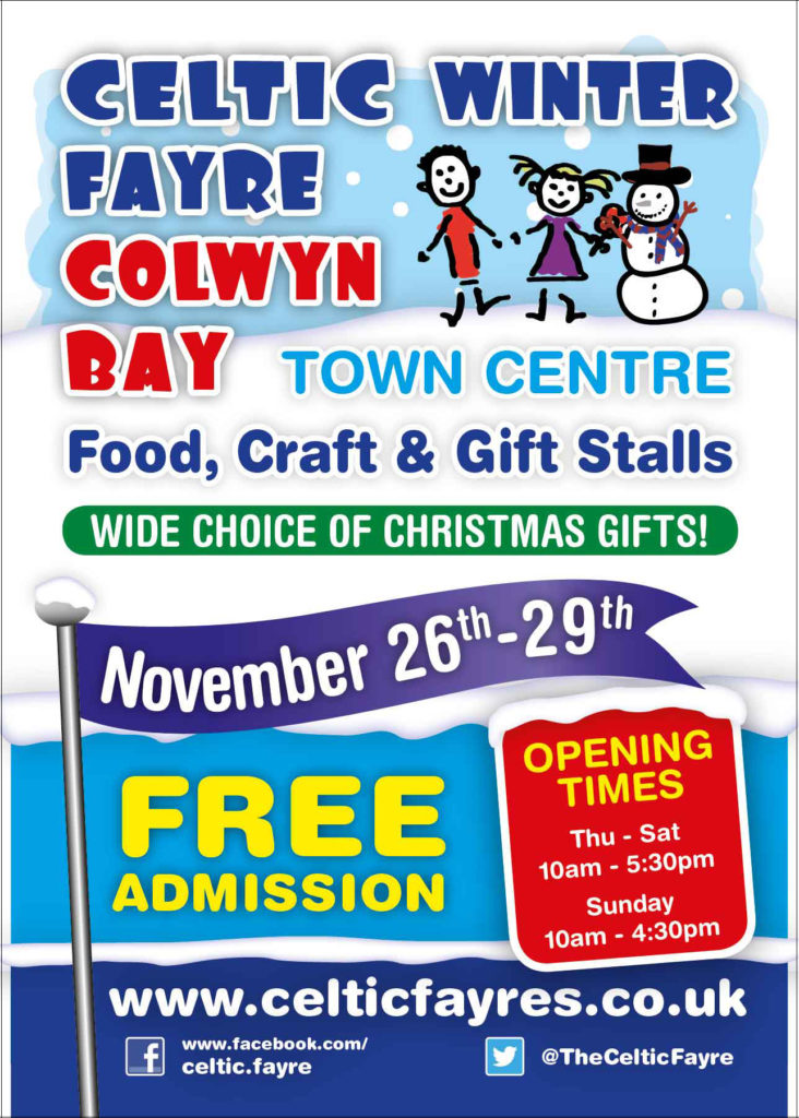 Celtic Winter Fayre Poster