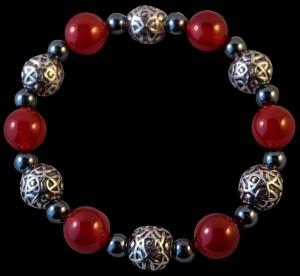 big-beady bracelet black dragon crafts
