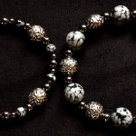 Snowflake Obsidian at Black Dragon Crafts