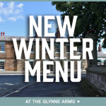 New Winter Menu at The Glynne Arms!