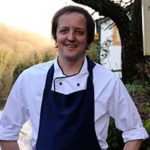 Monmouthshire Food Festival has Chris Harrod Chef/Patron at The Whitebrook cooking up a storm