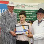 Winner of WorldSkills butchery competition Welsh heat named