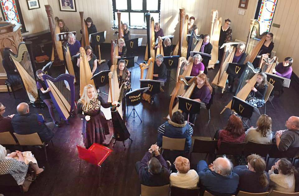 wales family harp weekend
