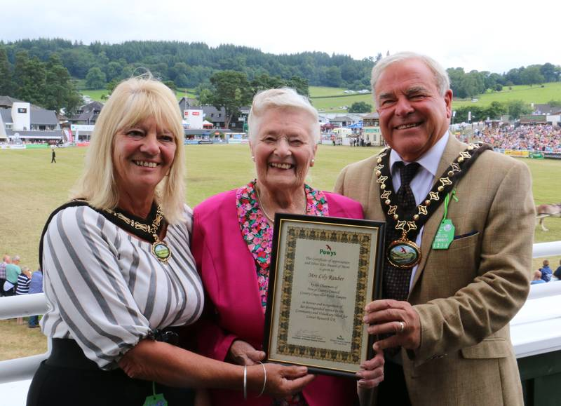 Community stalwarts receive civic honour