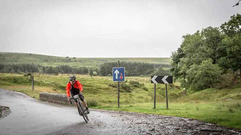 Take part in Tour of Britain Cycling Sportive at the Royal Welsh Showground