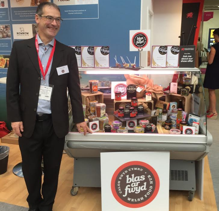 Blas ar Fwyd featured award winning products at Speciality Fine Food Fair