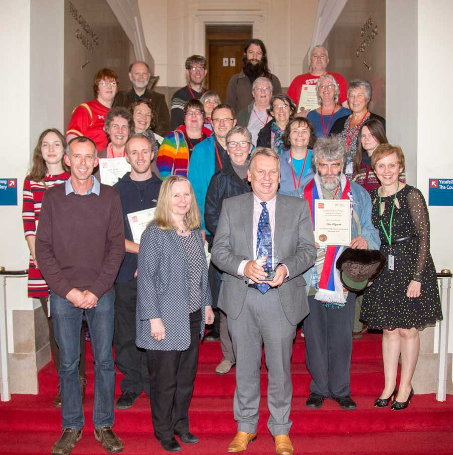 The National Library wins prestigious volunteering award