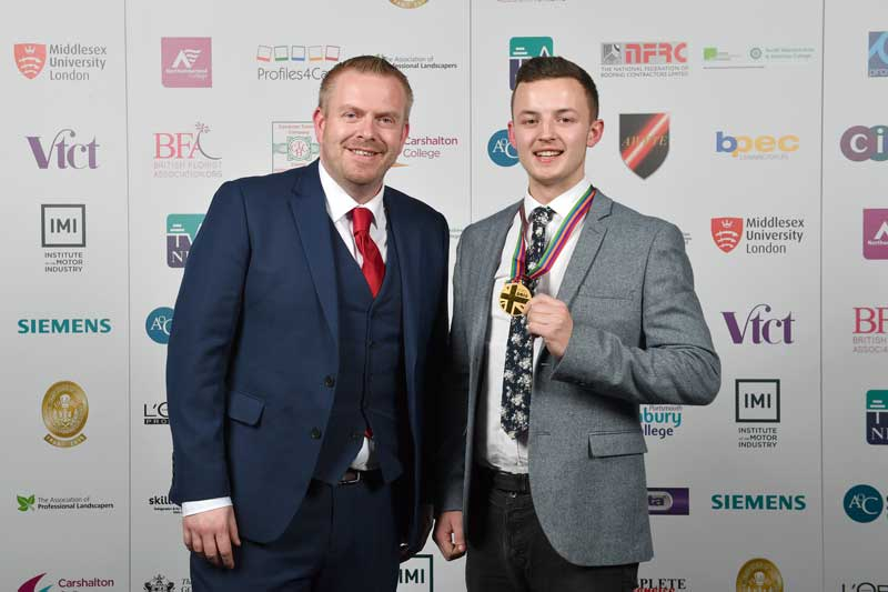 Welsh butcher wins WorldSkills butchery competition organised by Cambrian Training Company