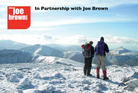 The Joe Brown Big Winter Walk with Plas Y Brenin