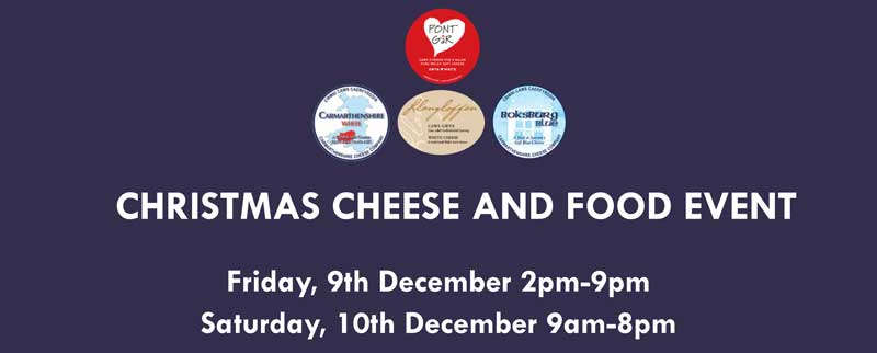 Christmas Cheese and Food Event at Carmarthenshire Cheese Company