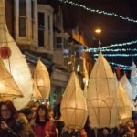Lantern parade lights up Cardigan's Festive Fortnight and attracts huge crowd
