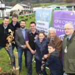 National Park Authorities present young oaks to young farmers