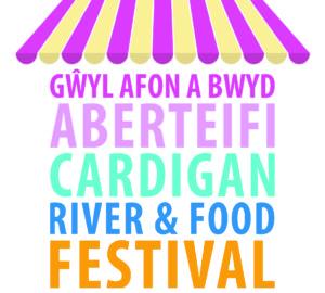 cardigan river and food festival logo