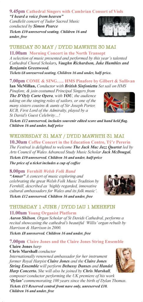 St Davids Festival