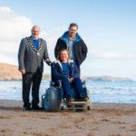 Pembrokeshire Coast National Park – Freshwater East, new beach wheel chair