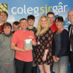 Coleg Sir Gar – Lecturer presented with Pearson Teaching Award