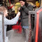 Gwili Railway – Couple blow the whistle for wedding proposal