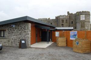 carew castle visitor centre