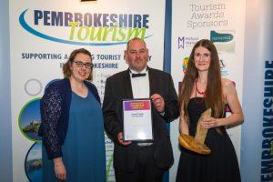 carew castle pembs tourism awards