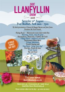llanfyllin show poster