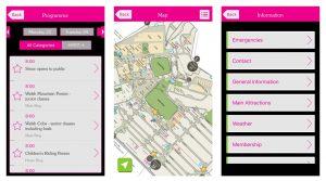 royal welsh app screen shots