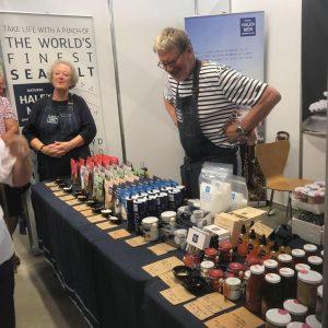 food and drink wales industry board alison lea wilson board member with husband David