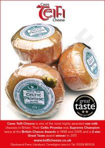 golden fork teifi cheese celtic promise