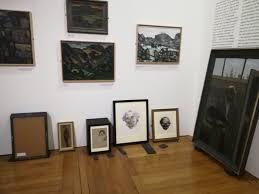 Tra Môr yn Fur national library exhibition