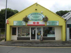 gwaun valley meats shop